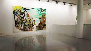 Installation View, Galerie Voss, 2017